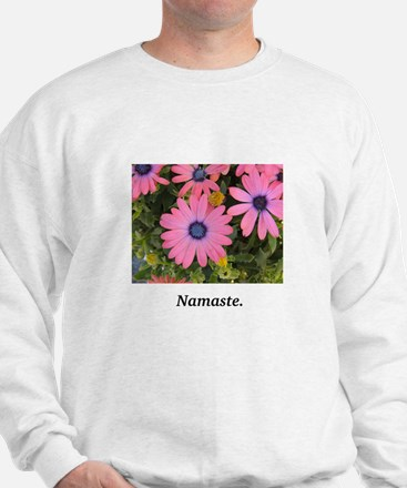 Pink Flower Grace and Gifts Sweatshirt