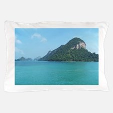 rock in the sea Pillow Case