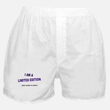I Am A Limited Edition Boxer Shorts