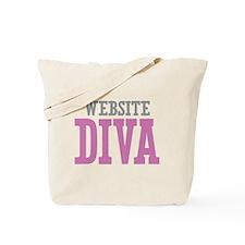 Website DIVA Tote Bag