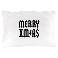 merry x mas Pillow Case