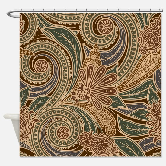 Pretty Pattern Shower Curtain