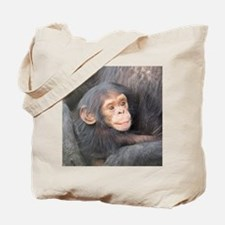 baby Chimpanzee Tote Bag