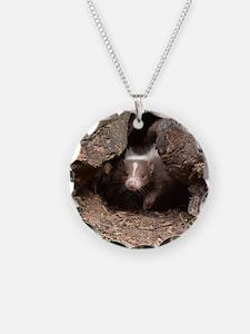 baby skunk Necklace