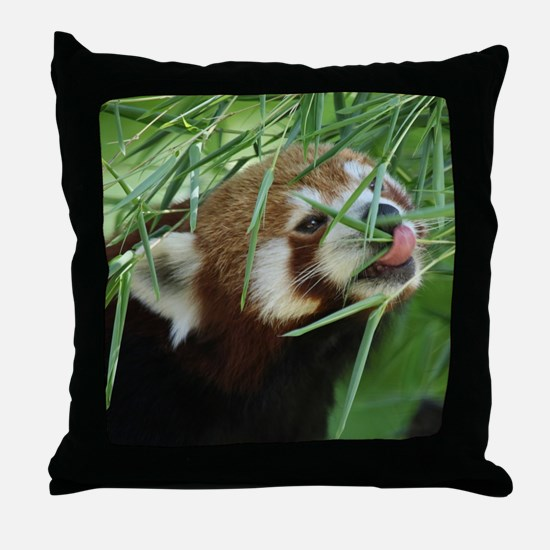 RedPanda20150812 Throw Pillow