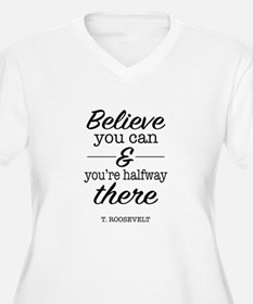 Believe you Can Plus Size T-Shirt