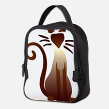 Cute Himalayan Neoprene Lunch Bag