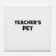 Teacher's Pet Tile Coaster