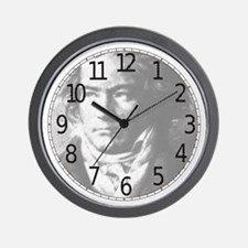 Vintage Style Beethoven Portrait Wall Clock