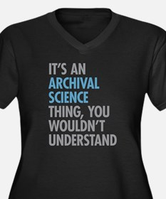 Archival Science Thing Plus Size T-Shirt