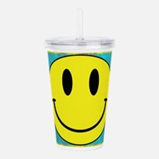 Happy FACE Smiley Acrylic Double-wall Tumbler