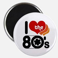 I Love the 80's Magnet