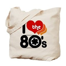 I Love the 80's Tote Bag
