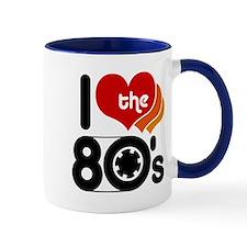 I Love the 80's Small Mug