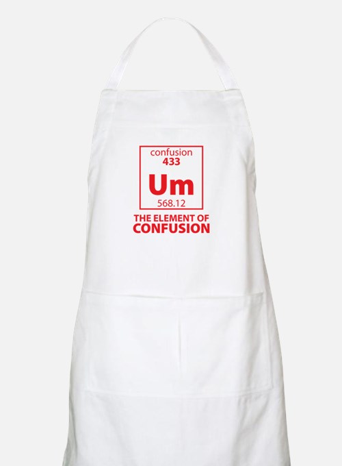 The Element of Confusion Apron