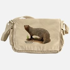 Indian Gray Mongoose Messenger Bag
