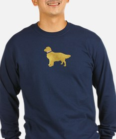 Preppy Golden Retriever T