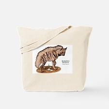 Striped Hyena Tote Bag