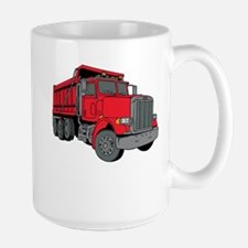 Peterbilt Dump Truck Large Mugs