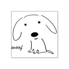 "Cool Pets Square Sticker 3"" x 3"""