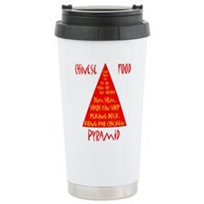 Chinese Food Pyramid Travel Mug