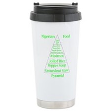 Nigerian Food Pyramid Travel Mug