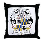Aranguren Family Crest  Throw Pillow