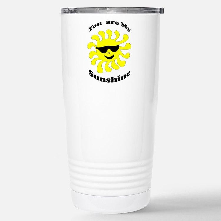 Sunshine Stainless Steel Travel Mug