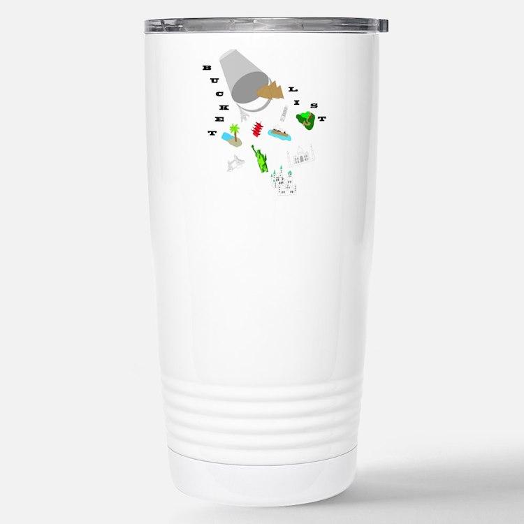 Bucket List Travel Mug