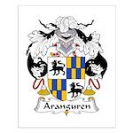 Aranguren Family Crest  Small Poster