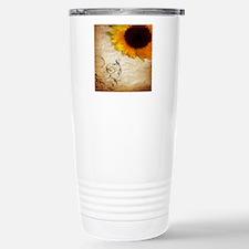 girly swirls floral sun Travel Mug