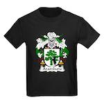 Aramburu Family Crest Kids Dark T-Shirt