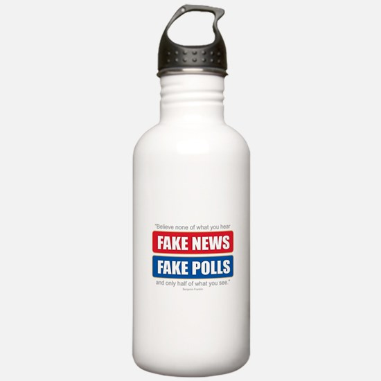 Fake News - Franklin Q Water Bottle