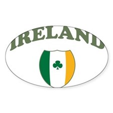 Ireland Sporty Logo Oval Decal