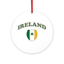 Ireland Sporty Logo Ornament (Round)