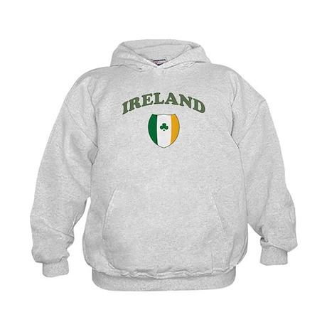 Ireland Sporty Logo Kids Hoodie