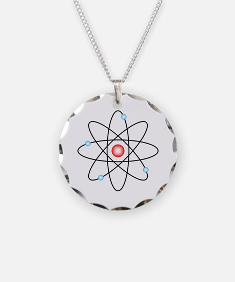 Atomic Necklace Circle Charm