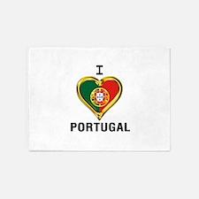 I HEART PORTUGAL 5'x7'Area Rug