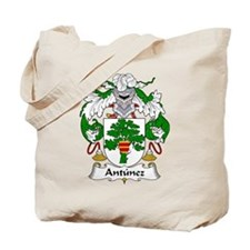 Antunez Family Crest Tote Bag