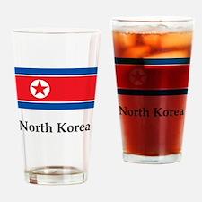North korea Drinking Glass