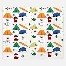 Camping Outdoors King Duvet