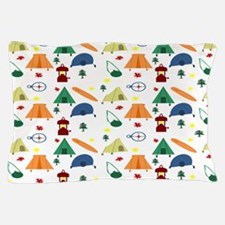 Camping Outdoors Pillow Case