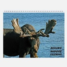 Maine Moose Wall Calendar