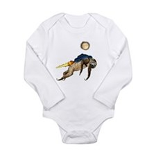 Cool Sloth Long Sleeve Infant Bodysuit