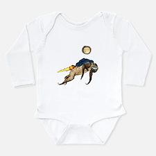 Funny Sloth Long Sleeve Infant Bodysuit