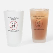 Alcohol and Calculus Drinking Glass