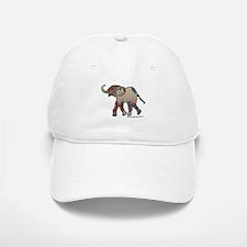 Zentangle Elephant Baseball Baseball Cap