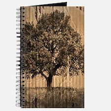 cardboard texture oak tree Journal
