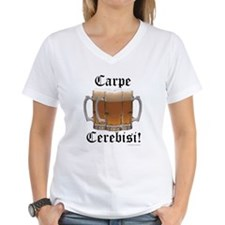 Seize the Beer! Women's V-Neck T-Shirt