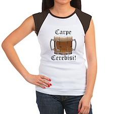 Seize the Beer! Women's Cap Sleeve T-Shirt